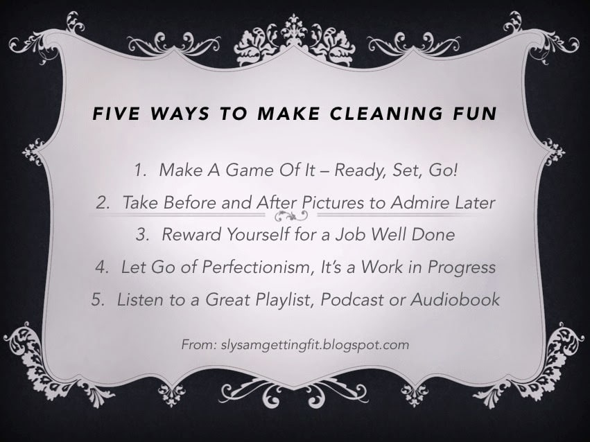 Five Quick Tips to Make Cleaning Fun