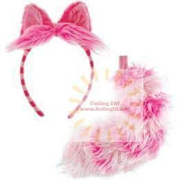 Elope - Disney Cheshire Cat Ears and Tail Set Adult