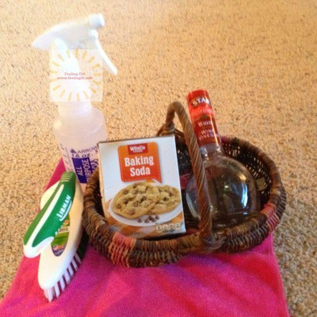 Healthy Cleaning Tip Carpet Cleaning With Baking Soda And