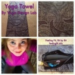 Paisley Yoga Towel Dresses Up Your Yoga Mat
