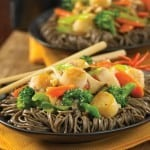 Cantonese Mushroom, Vegetable and Scallop Stir-Fry Recipe