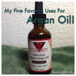 My Five Favorite Uses for Argan Oil
