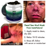 Instanatural Dead Sea Mud Mask Review #deadseamask