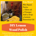 DIY Healthy Wood Polish