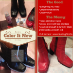 Can Color It New Make Old Shoes New? (Review)