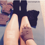 Yoga Socks Help Prevent Slipping on the Mat