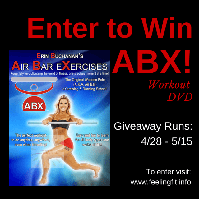 Air Bar Exercises Workout DVD Giveaway