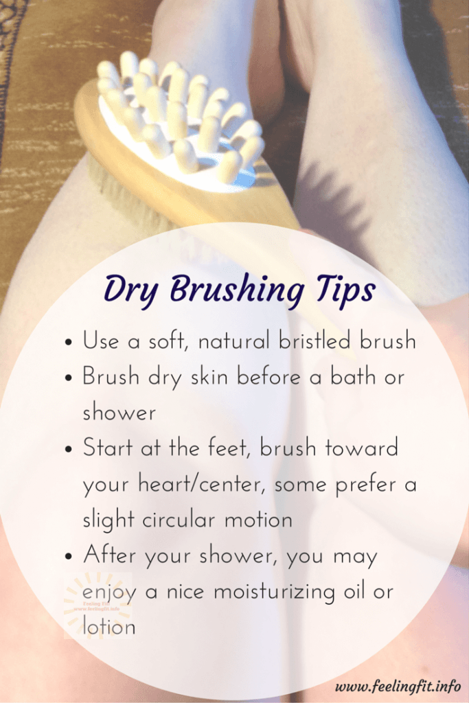 Dry Brushing Tips Using a Natural Boar Bristle Brush