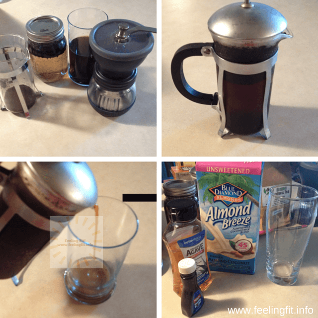 How to make delicious iced coffee using a cold brewing method