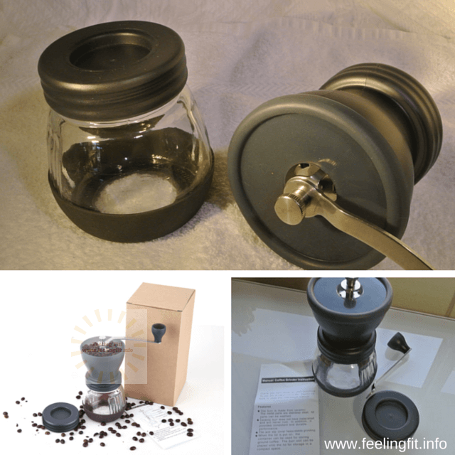 The OrJoeCoffee manual grinder