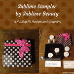 A Review of the Sublime Sampler Box from Sublime Beauty