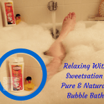 Relax With A Natural Bubble Bath #bubbletherapy