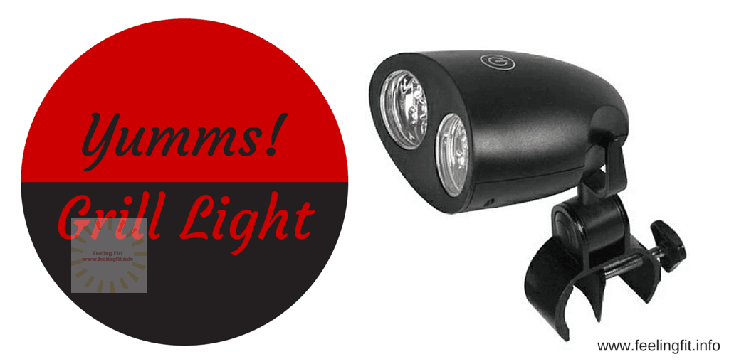 A review of Yumms! BBQ Grill Light from www.feelingfit.info