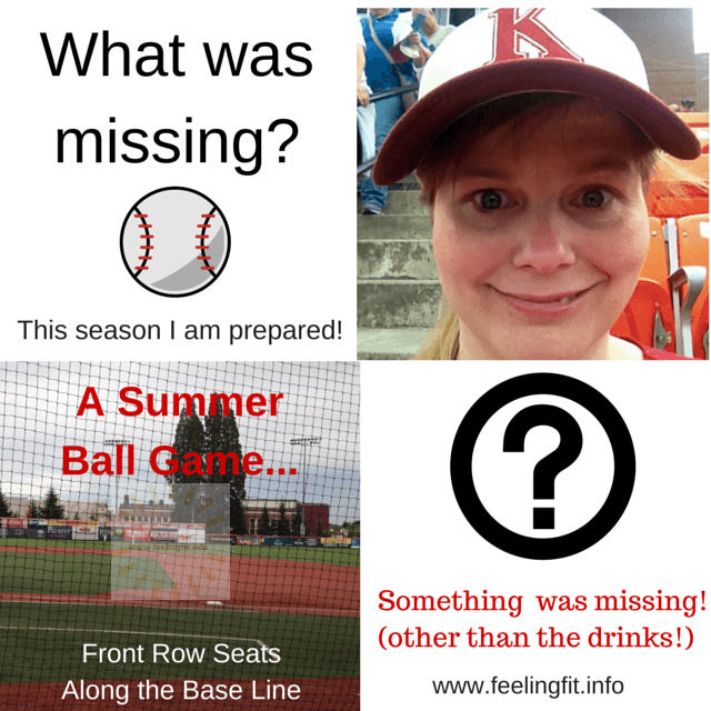 What is Missing From My Baseball Experience?