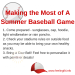 Baseball + Cow Bells = Summer Fun!  #CowBells4U