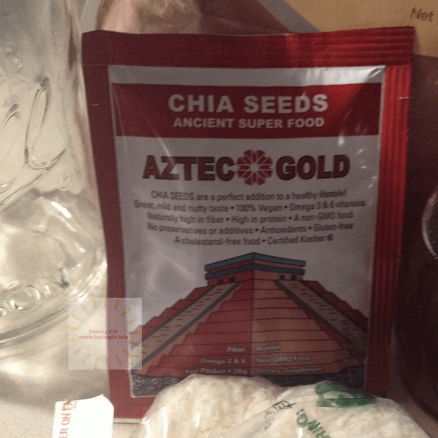 Aztec Gold Chia Seeds