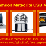 A Review of the Samson Meteorite USB Microphone from www.feelingfit.info