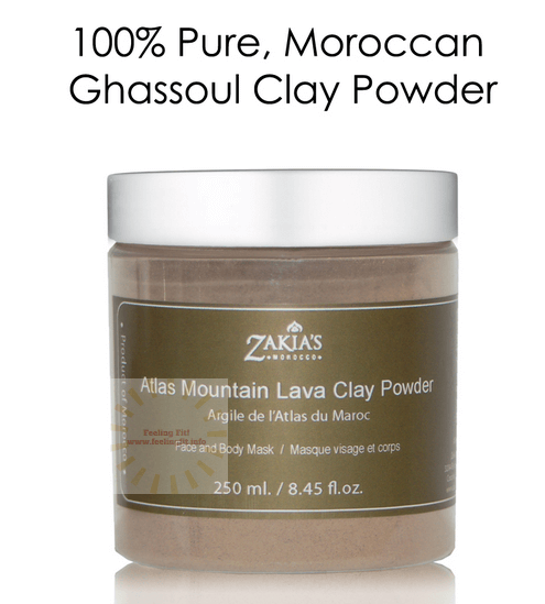 Zakia's Moroccan Ghassoul Clay Mask