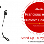 Review of Francois et Mimi Upgraded Sweatproof Wireless Bluetooth 4.0 Headphones Noise Cancelling Headphones w/ Microphone on www.feelingfit.info