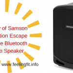 Review Samson Expedition Escape Bluetooth Speaker