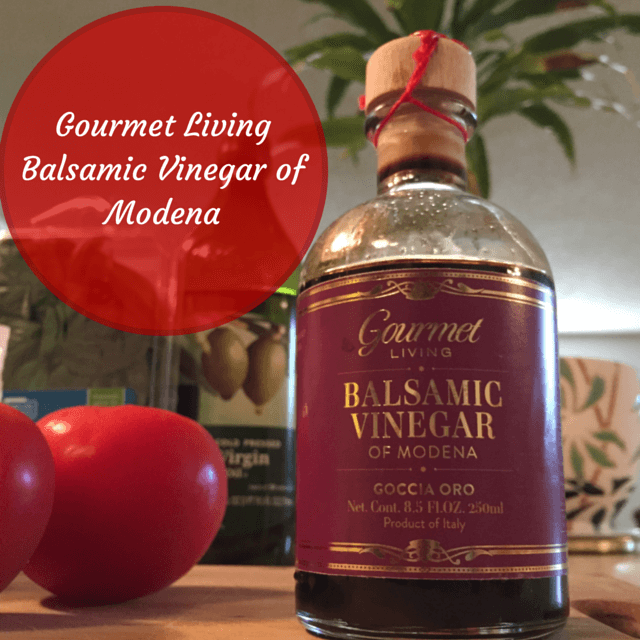 Gourmet Living Balsamic Vinegar of Modena review via www.feelingfit.info