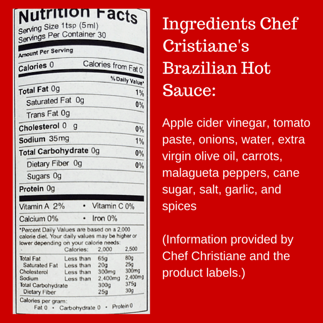 "Some like it hot, do you? Visit www.feelingfit.info for a review of Chef Christiane Pereira's Brazilian ""I'm Hot""Gourmet Hot Sauce featuring tomatoes and malagueta peppers."