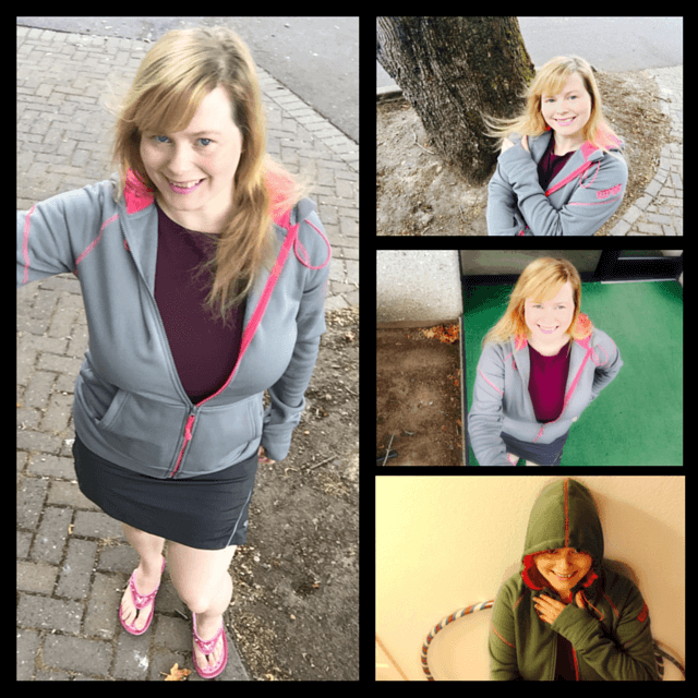 KEEPTIGHT IronFleece Performance Cloak hoodie is stylish, comfortable and funtional. See full review on www.feelingfit.info