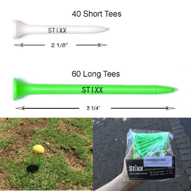 A review of two STIXX golf products including their microfiber golf towels and biodegradable golf tees from www.feelingfit.info #golf #review