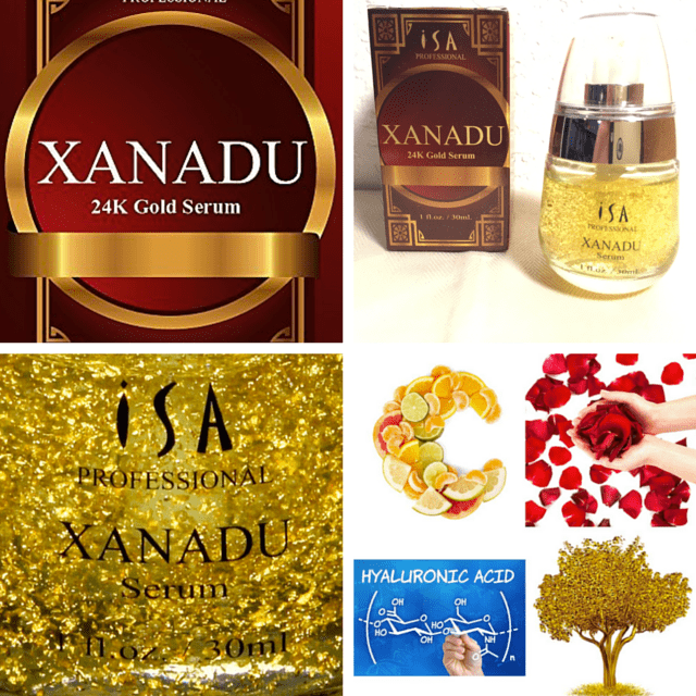 A review of Xanadu 24K Gold Facial Serum on www.feelingfit.info