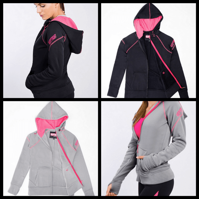 KEEPTIGHT KEEPTIGHT® IronFleece Performance Cloak hoodie is stylish, comfortable and funtional. See full review on www.feelingfit.info