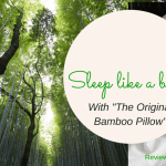 Sleep Like a Baby With The Original Bamboo Pillow #originalbamboo