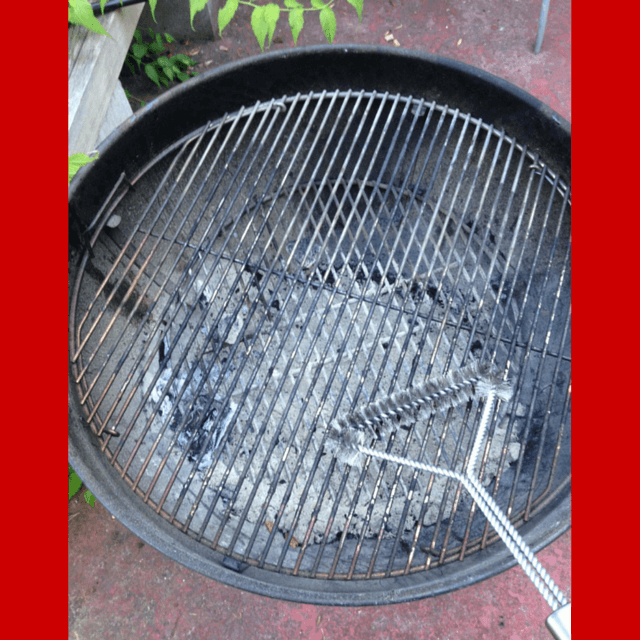 The EliteChef Grill Brush is sturdy and funtional.