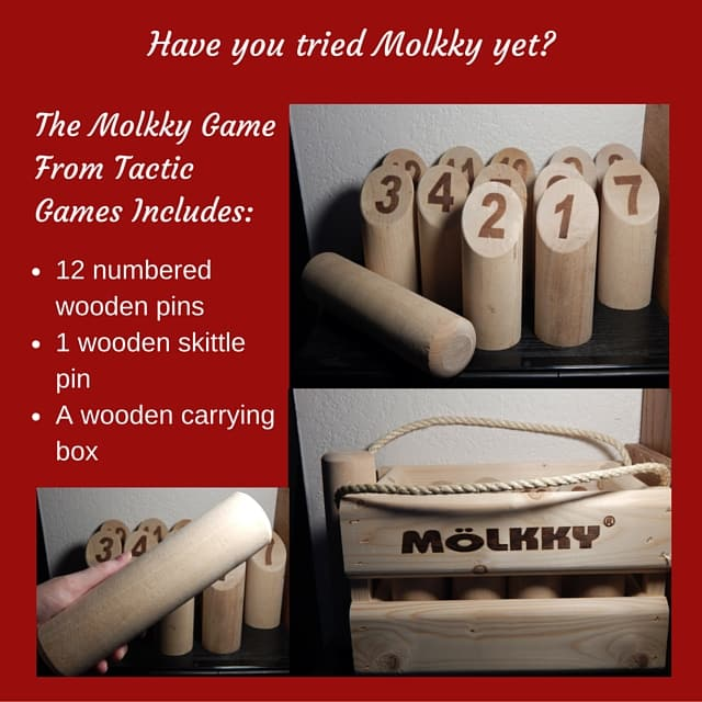 Molkky Includes