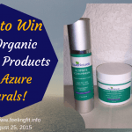 Azure Naturals Ocean Mineral Organic Skincare Products Giveaway