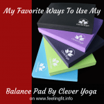 "<span class=""entry-title-primary"">Five Ways To Use A Balance Pad #CleverYogaBalancePad</span> <span class=""entry-subtitle"">The Clever Yoga Balance Pad is an Affordable Alternative to the Airex Balance Pad</span>"