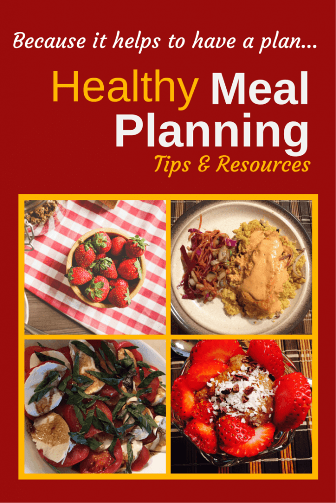 Tips for Easy, Healthy Meal Planning on www.feelingfit.info