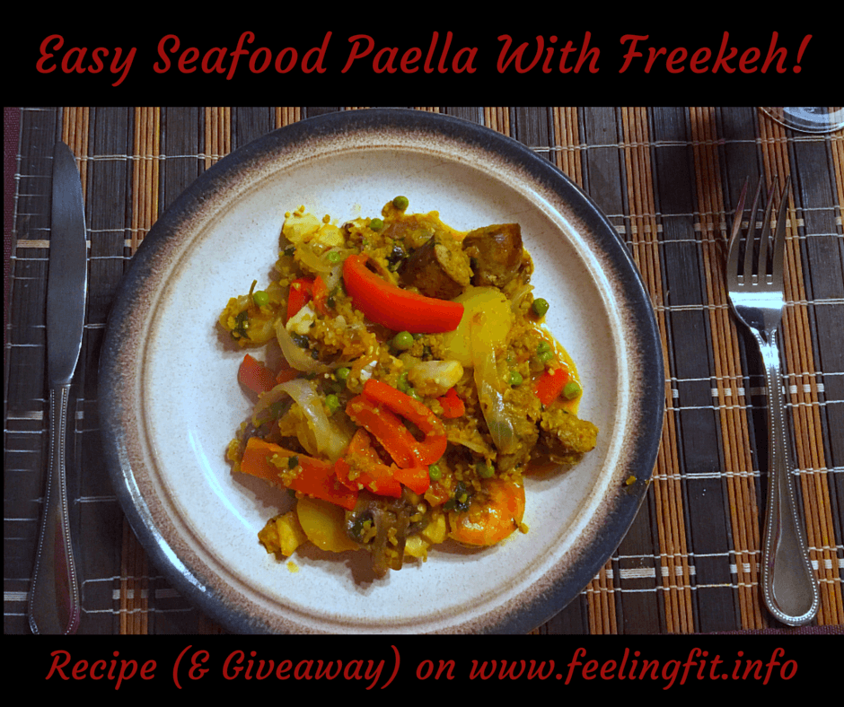 Easy Seafood Paella With Freekeh!
