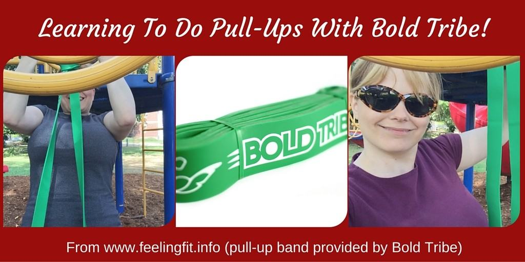 Learning To Do Pull-Ups With Bold Tribe!