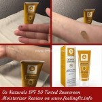 Tinted Sunscreen Review Of Oz Naturals
