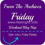 From The Archives Friday Blog Link Up – October 2
