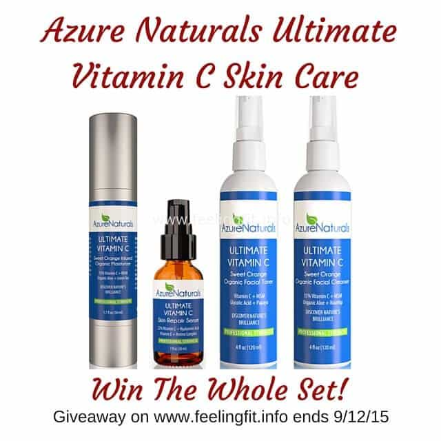 Azure Naturals Four PartVitamin C Skin Care(1)