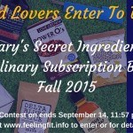Enter To Win: Mary's Secret Ingredients Fall Culinary Food Box!