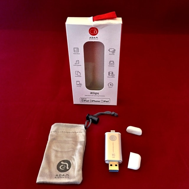 Can an ilk's USB Lightning Drive to solve your iPhone or iPad storage problems? See detailed, photo review on www.feelingfit.info