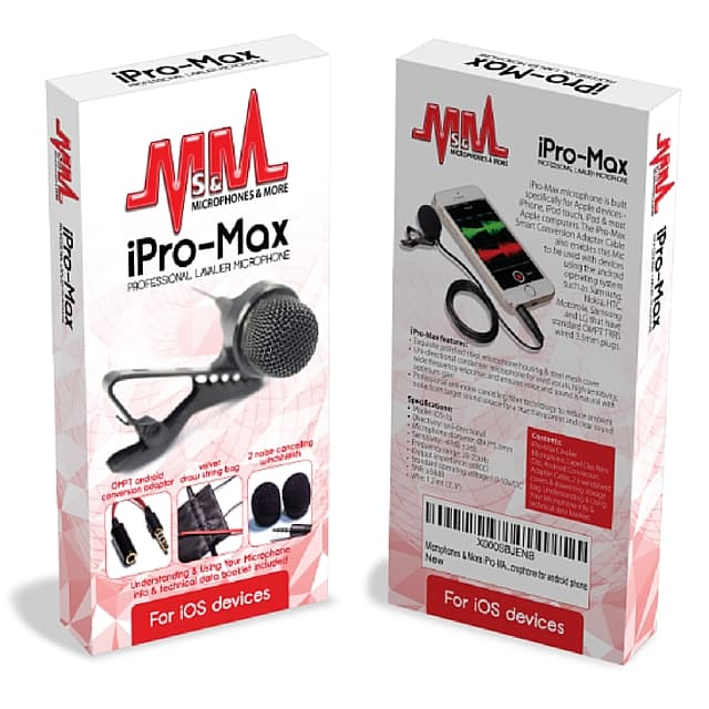 iPro Max Microphone in box