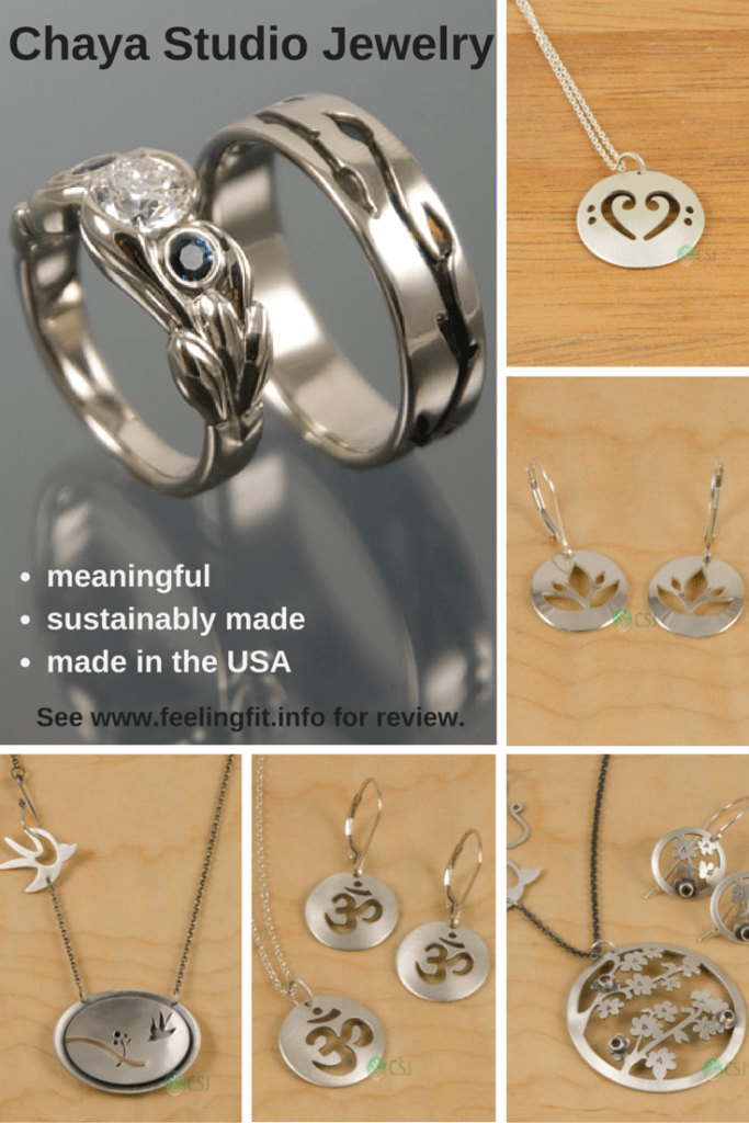 Chaya Studio Jewelry lives up to their mission of creating sustainably beautiful jewelry that is made in the USA.