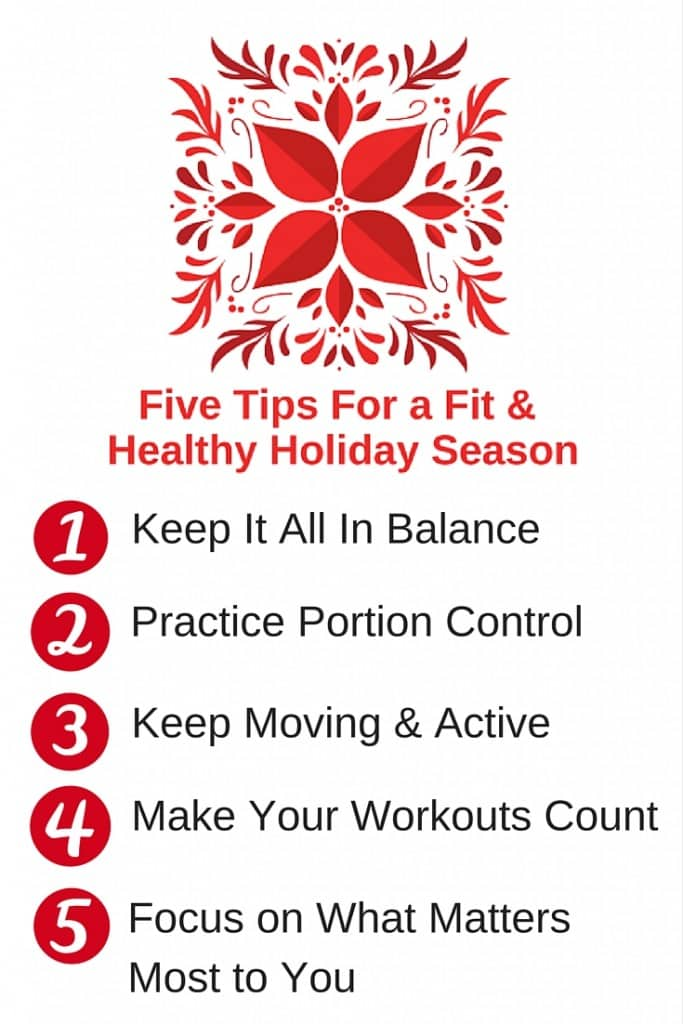 Five Tips For A Fit Healthy Holiday from www.feelingfit.info