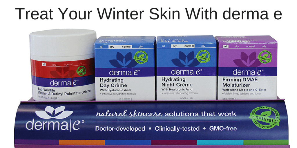 Treat Your Winter Skin With derma e