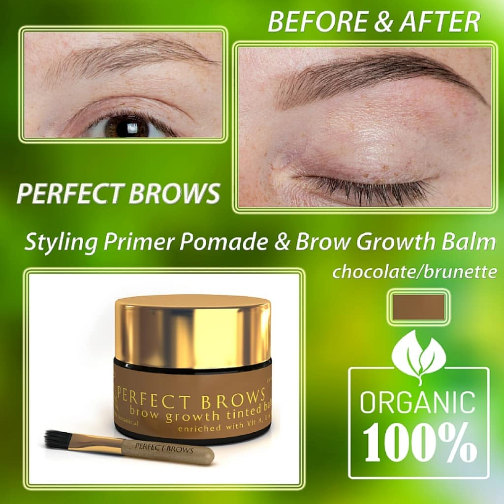 About Perfect Brow Tinted Balm
