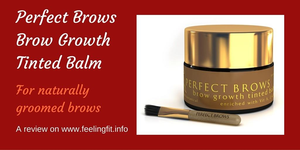 Perfect Brows Brow Growth Tinted Balm