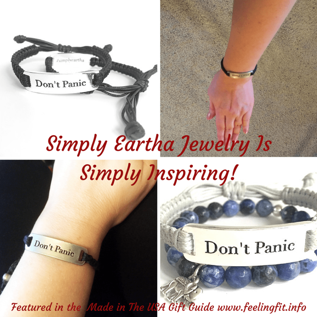 Simply Eartha Don't Panic Bracelet